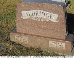 "Elizabeth ""Lizzie"" <I>Kerr</I> Aldridge"