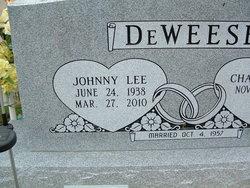 Johnny Lee <I>Humphreys</I> DeWeese