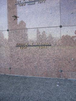 George Earl Altman