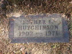 Esther E. Hutchinson
