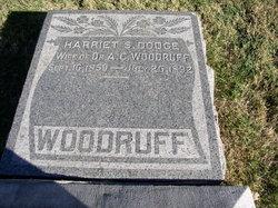 Harriet S . <I>Dodge</I> Woodruff