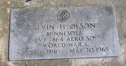 "Alvin Henry ""A. H."" Olson"