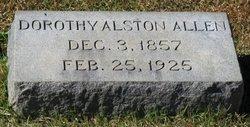 Dorothy <I>Alston</I> Allen