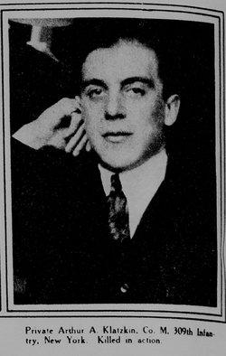 Arthur A Klatzkin