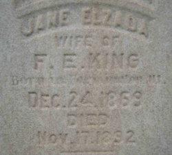 Jane Elzunda <I>Earl</I> King
