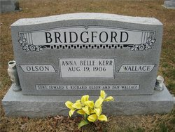 Anna Belle <I>Kerr</I> Bridgford
