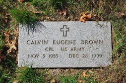 Corp Calvin Eugene Brown
