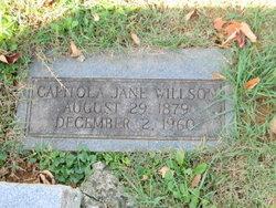 Capitola Jane Willson