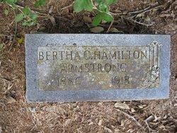Bertha C <I>Hamilton</I> Armstrong