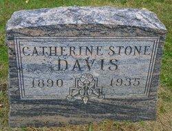 Catherine <I>Stone</I> Davis