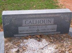 Rev Winfred Estus Calhoun
