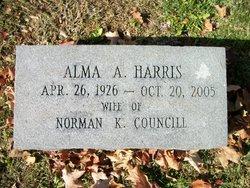 Alma A <I>Harris</I> Councill