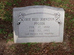 Erie Bell <I>Johnston</I> Pegoda