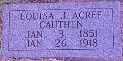 Louisa J. <I>Acree</I> Cauthen