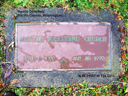 "Mattie Josephine ""Jo"" <I>Oller</I> Church"