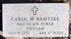 "Lois ""Carol"" <I>Witt</I> Babitzke"