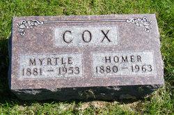 Myrtle Ivy <I>Perkins</I> Cox
