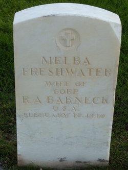 Melba <I>Freshwater</I> Barneck