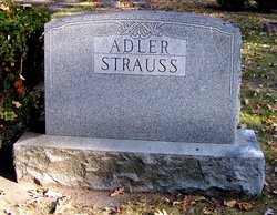 Lillian <I>Strauss</I> Adler