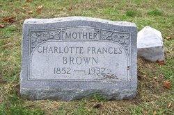"Charlotte Frances ""Lottie"" <I>Grafton</I> Brown"