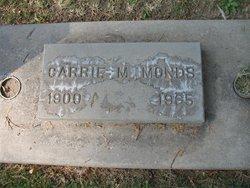 Carrie M. <I>Aaron</I> Monds