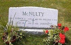 Rev William A McNulty