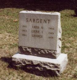 Lizzie L. <I>Buzzell</I> Sargent