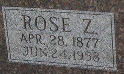 Rose Z. <I>Hensler</I> Alberding