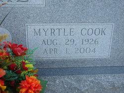 Myrtle <I>Cook</I> Flake