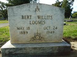 Bert Willits Loomis