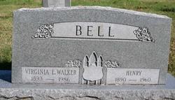 Virginia E. <I>Walker</I> Bell