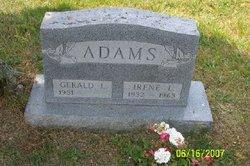 Irene L. <I>Krieger</I> Adams