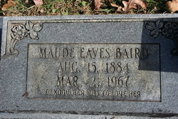 Maude <I>Eaves</I> Baird