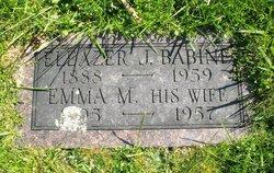 Emma Mary <I>Curran</I> Babine