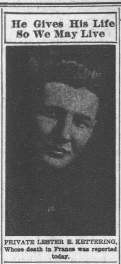 Pvt Lester E. Kettering