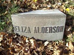 "Susan ""Eliza"" <I>Patch</I> Alderson"