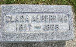 Clara A. Alberding