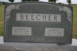 Jennie Florence <I>Hayes</I> Beecher