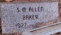 Sue Marie <I>Allen</I> Baker