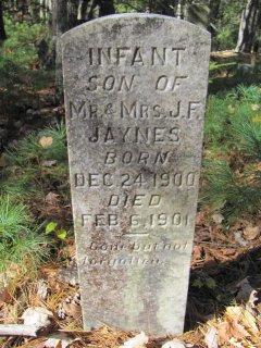 Infant Son Jaynes