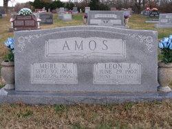 Murl Mae <I>Brown</I> Amos