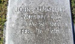 John Marshall Nowell Jr.