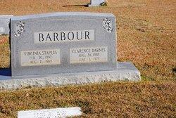 Virginia <I>Staples</I> Barbour