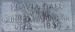 Flavia <I>Hall</I> Waring