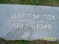 Janet <I>McKee</I> Cox