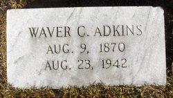 """Waverly C. """"Waver"""" Adkins"""