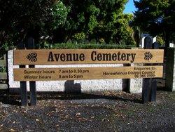 Avenue Cemetery