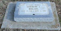 Gertrude J. Rogers