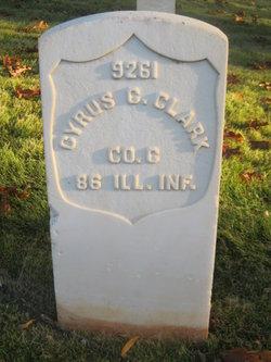 Pvt Cyrus C Clarke