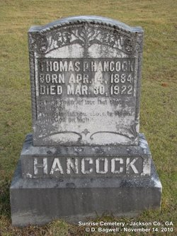 "Thomas Paul ""Paul"" Hancock"